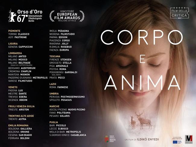 Corpo e Anima: il film di Ildikó Enyedi dal 4 gennaio al cinema
