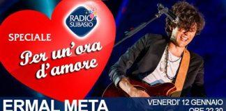 Ermal Meta radio 12 gennaio 2018