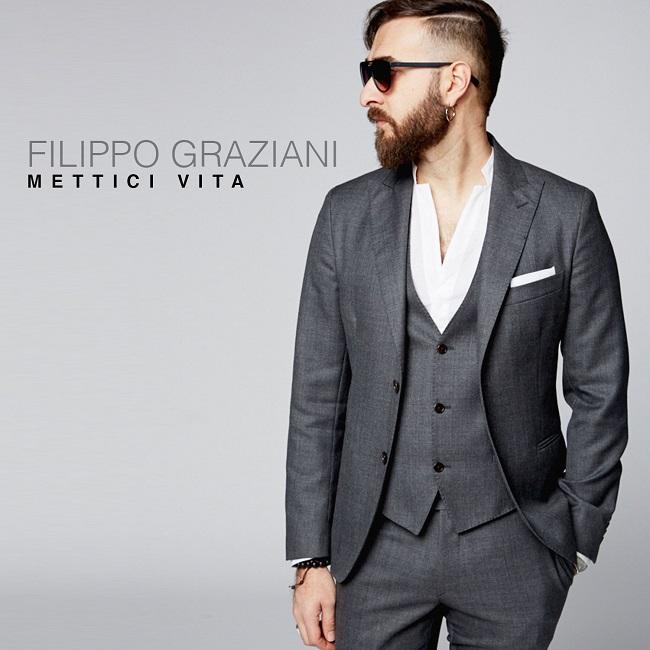 """Filippo Graziani: in radio il singolo """"Mettici vita"""" dal 12 gennaio"""