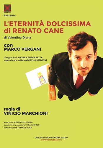"""Marco Vergani a Milano con """"L'Eternità dolcissima di Renato Cane"""""""