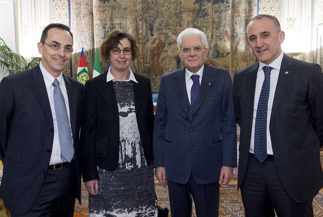 Incontro al Quirinale tra Mattarella e i vertici FS-ANAS
