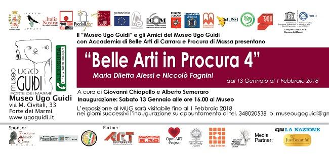 """Il Museo Ugo Guidi presenta la 134^ mostra """"Belle Arti in Procura"""""""