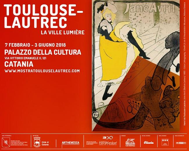 Ricola a Palazzo della Cultura di Catania per Henri de Toulouse-Lautrec