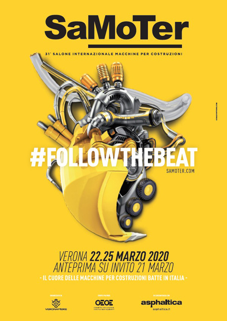 SaMoTer a Veronafiere dal 22 al 25 marzo 2020