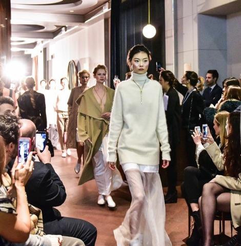 Milan Fashion Week 2018, l'entourage di Elena Savò