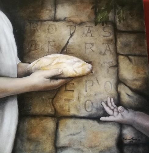 Paolo Battaglia La Terra Borgese racconta l'artista Marisa Ferraro
