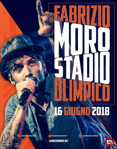 Fabrizio Moro live il 16 giugno a Roma: info, biglietti