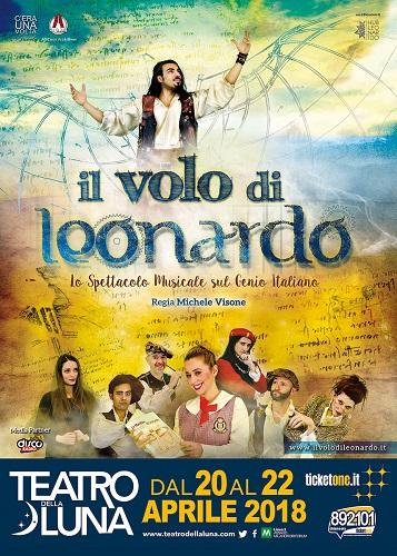 """""""Il volo di Leonardo"""" in scena al Teatro della Luna di Milano"""