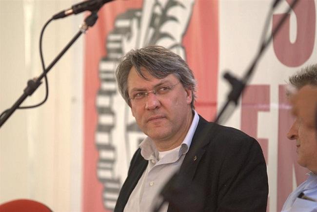 """Maurizio Landini si sfoga: """"Per la sinistra crisi paurosa"""""""