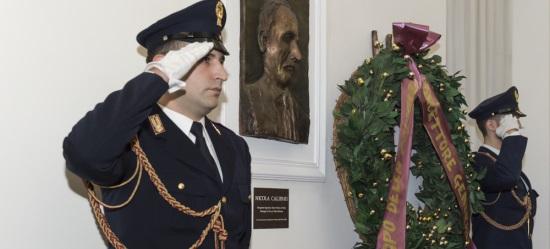 Roma, cerimonia in ricordo del poliziotto Nicola Calipari