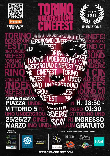 Torino Underground Cinefest, il programma dell'edizione 2018