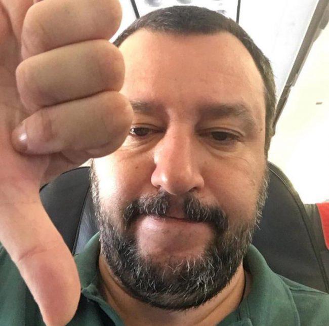 """Incendi nell'Oristanese, Salvini: """"Pene severe, senza sconti, ai criminali"""""""