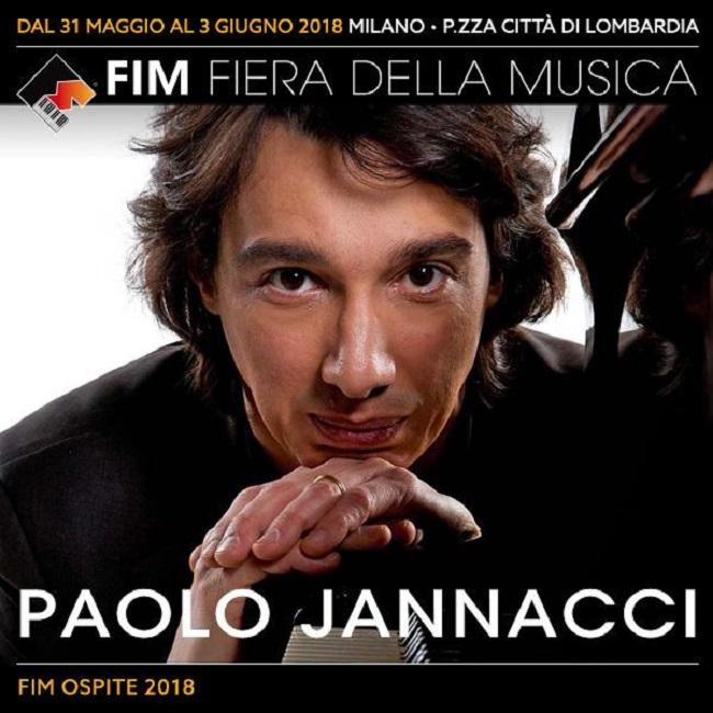 FIM 2018: Fiera della Musica di Milano ospita Paolo Jannacci