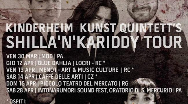Mezz Gacano & Self-Standing Ovation Boskàuz Ensemble Live in Calabria