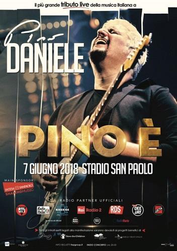 """""""Pino È"""" il 7 giugno allo Stadio San Paolo di Napoli, il tributo a Pino Daniele"""