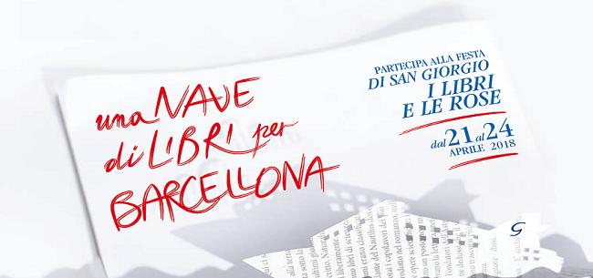 Una Nave di Libri per Barcellona 2018: dal 21 al 24 aprile