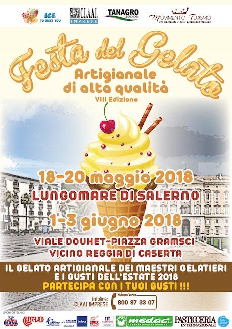 festa del gelato artigianale 2018 Salerno Caserta