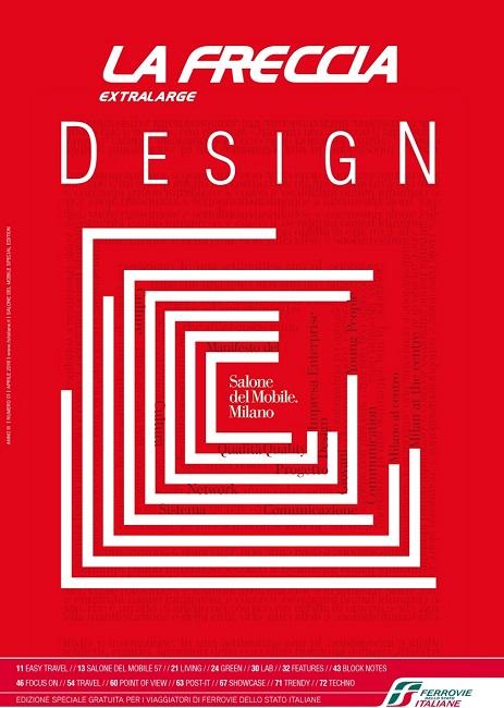 Trenitalia, La Freccia Design al salone del mobile di Milano