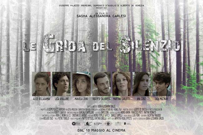 Le grida del silenzio: al cinema il nuovo film della Carlesi