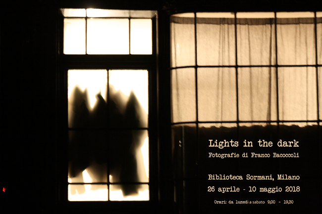 Lights in the dark, mostra alla Biblioteca Sormani Milano