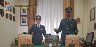 maxi sequestro hashish Napoli