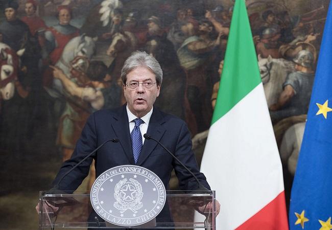 Governo: il saluto del Presidente del Consiglio uscente Paolo Gentiloni