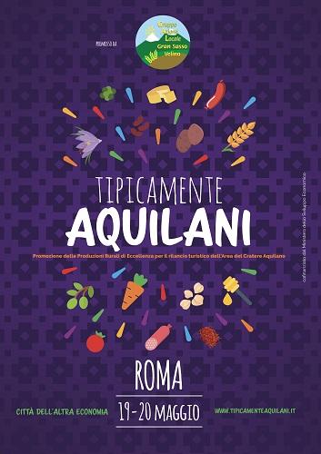 """""""Tipicamente Aquilani"""" alla Città dell'Altra Economia di Roma"""