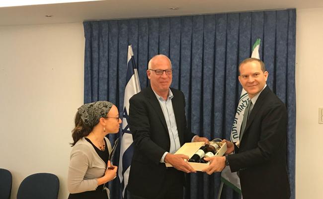 Giansanti ministro Israele