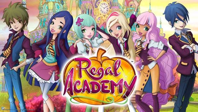 Regal Academy Castle Tour