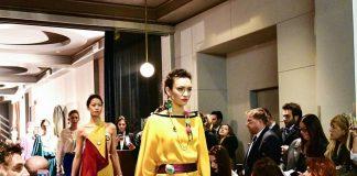 stilista palermitana Daniela Barone Montecarlo Fashion Week 2018