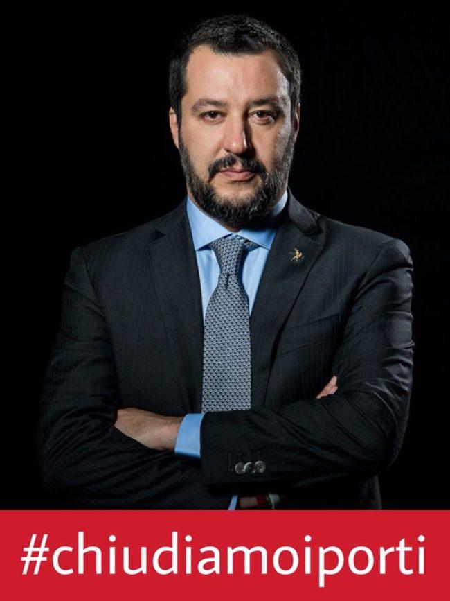 Matteo Salvini #chiudiamoiporti