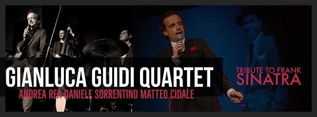 Gianluca Guidi Quartet nel Tributo a Frank Sinatra a Comacchio (FE)