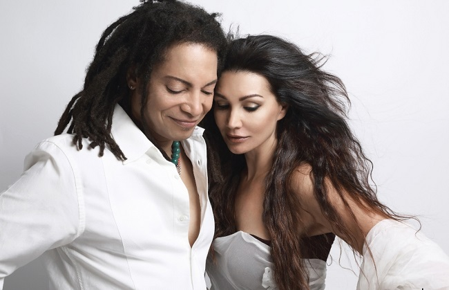 Luisa Corna e Sananda Maitreya (©Michela Zizzari)