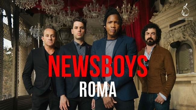 Newsboys Live a Roma il 15 giugno 2018 all'Auditorium Ceizs