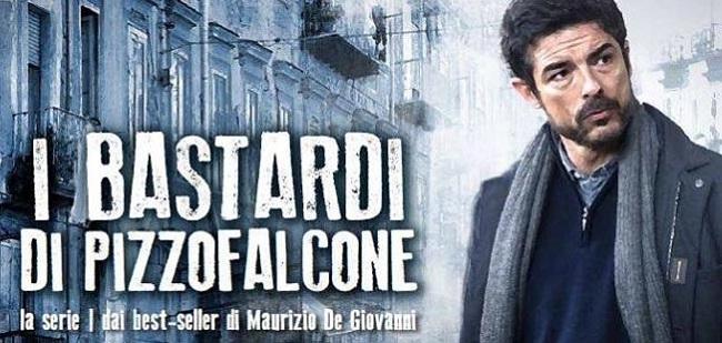 """Programmi TV 10 giugno 2018: su Rai1 la serie """"I bastardi di Pizzofalcone"""""""
