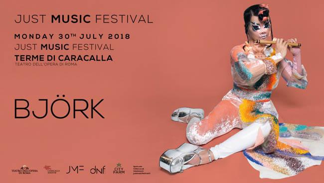 Björk nuova data concerto 30 luglio Roma