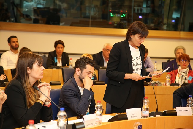 Bruxelles incontro Every Child Is My Child con Parlamento europeo