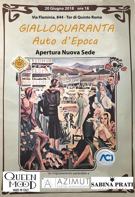 Sladana Krstic inaugurazione Gialloquaranta Roma