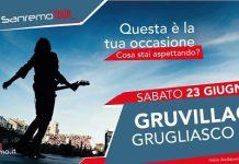 Fanya Di Croce Le Gru casa Sanremo Tour