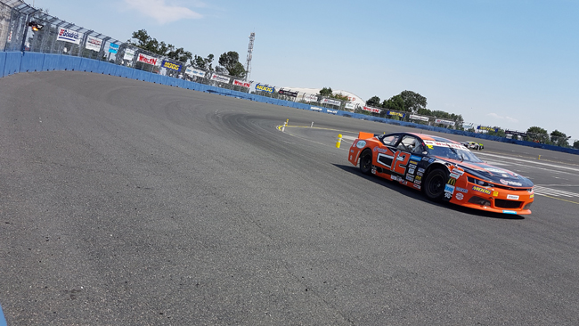 Solaris Motorsport uscita anticipata all'Oval World Challenge