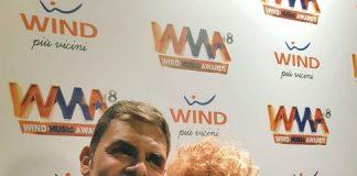 Fiorella Mannoia premiata dal presidente AFI, Sergio Cerruti