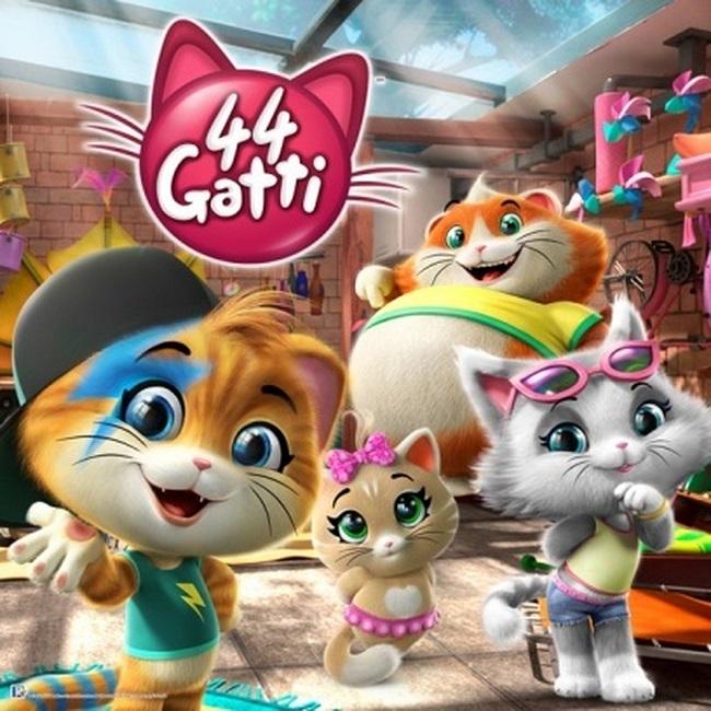 """""""44 Gatti"""" la nuova serie animata della Rainbow al #Giffoni2018"""