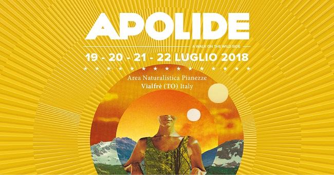 Apolide Festival 2018 a Torino dal 19 al 22 luglio: il programma