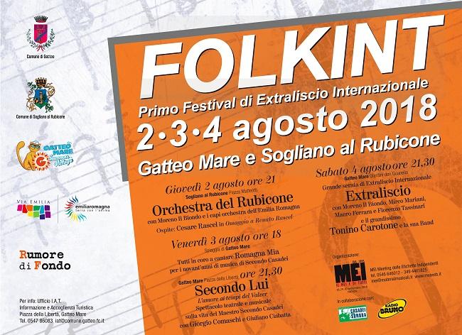 Folkint - Festival di extraliscio internazionale dal 2 al 4 agosto 2018