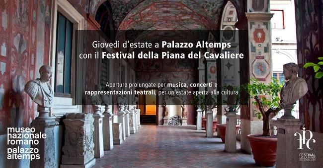 Giovedì d'estate a Palazzo Altemps di Roma: il programma
