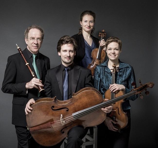 """Il Quartetto Bernardini per """"Mozart incontra Bach"""", nell'ambito di ArtCity 2018"""