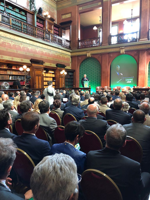 Bruxelles assemblea Confagricoltura interventi di Giansanti Tajani Centinaio Hogan