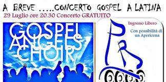 Gospel Angels Choir concerto 29 luglio Latina