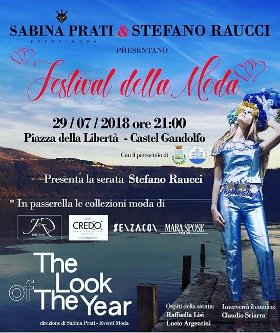 Festival della Moda 29 luglio Castel Gandolfo