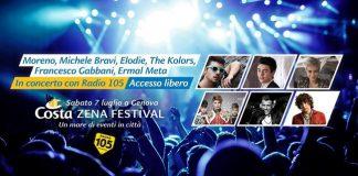 Genova mega concerto 70 anni della Costa